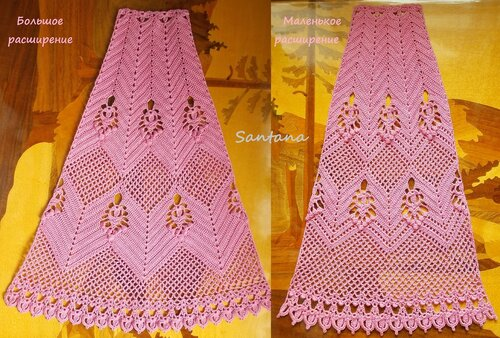 2 расширения юбки