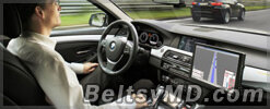 В Британии представлен автомобиль «без водителя»