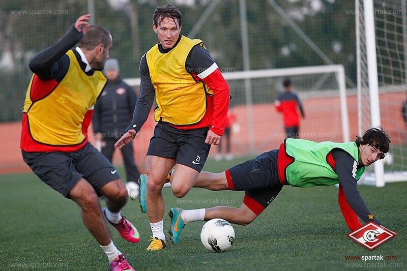 Тест на выносливость и футбольный турнир «Спартака» (Фото)