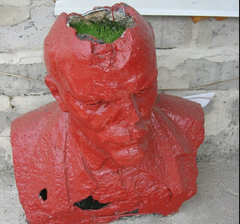 Ленин пророс!