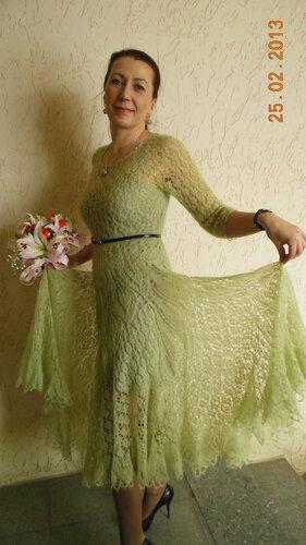 Платье из мохера спицами схема фото 680