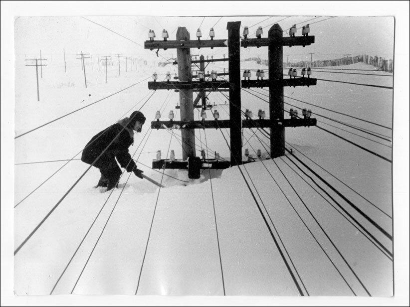 Воркута, начало 1960-х