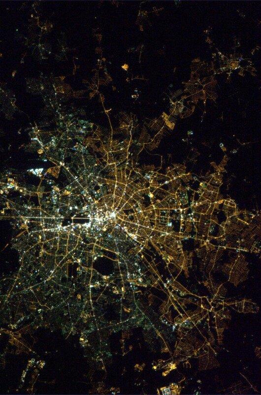 Границы Восточного и Западного Берлина