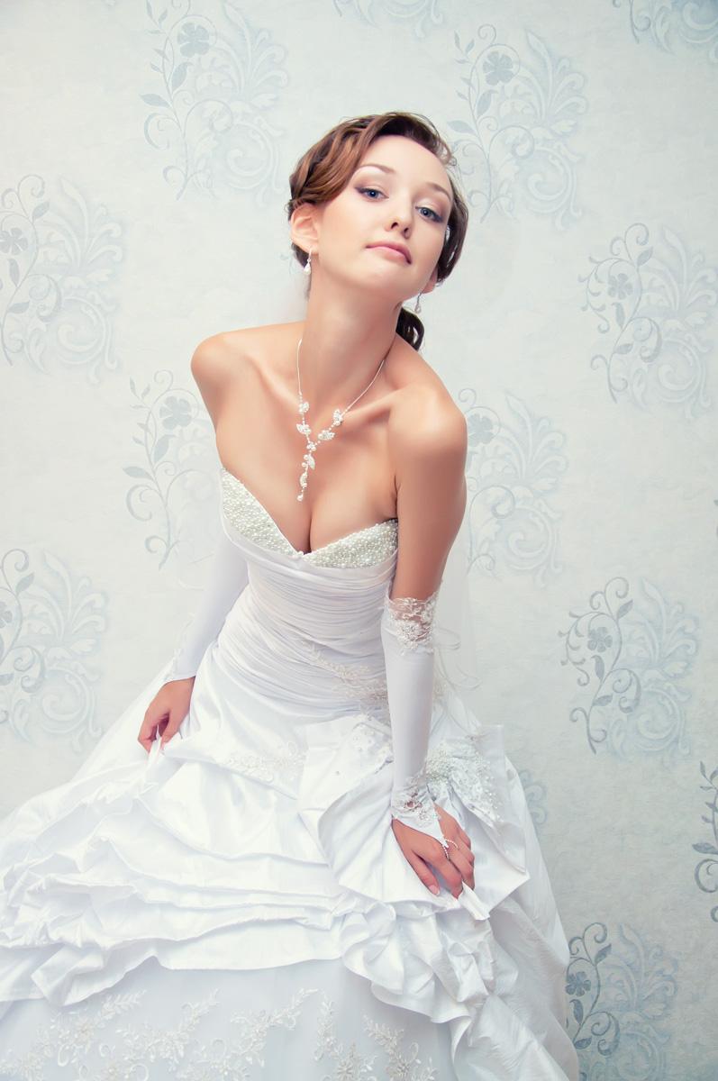 Невеста, портрет