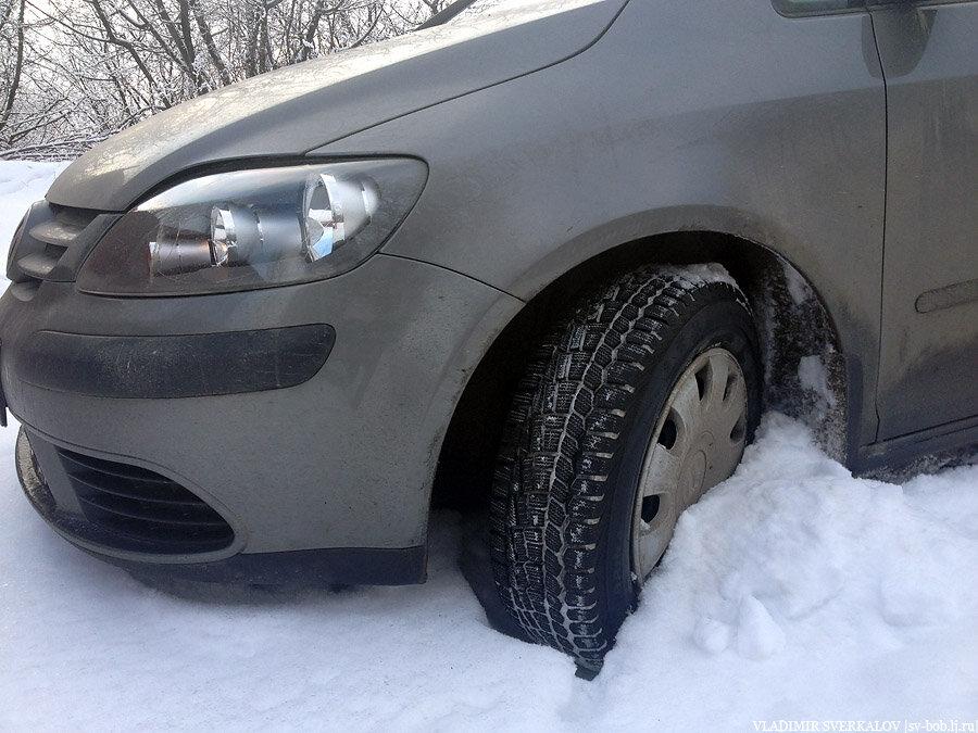 Нешипованные зимнии шины