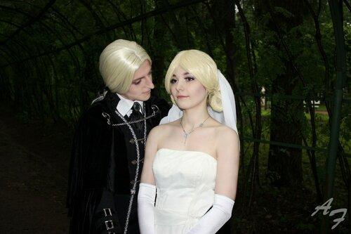 Люциус и Нарцисса Малфой. Свадьба