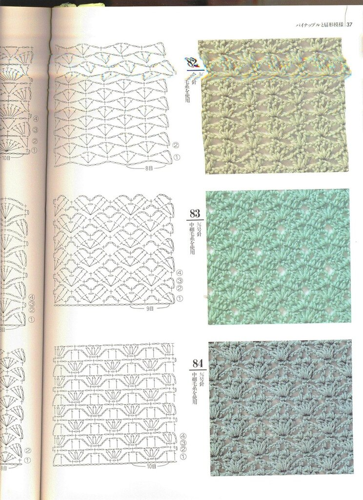 Todo para Crear ... : 200 Muestras de puntos en crochet