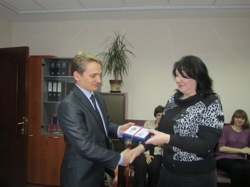 М. Н. Цециной вручена ведомственная награда