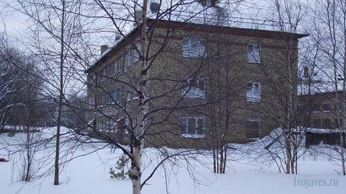 Фотография Инты №2689  Северо-восточный угол Геологической 4 31.01.2013_12:59