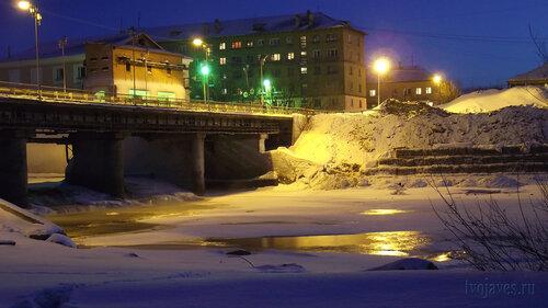 Фото города Инта №3312  Западная сторона моста