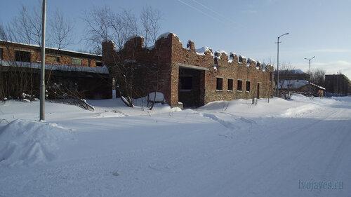 Фотография Инты №3793  Вид на здания напротив Чернова 9 19.02.2013_13:03