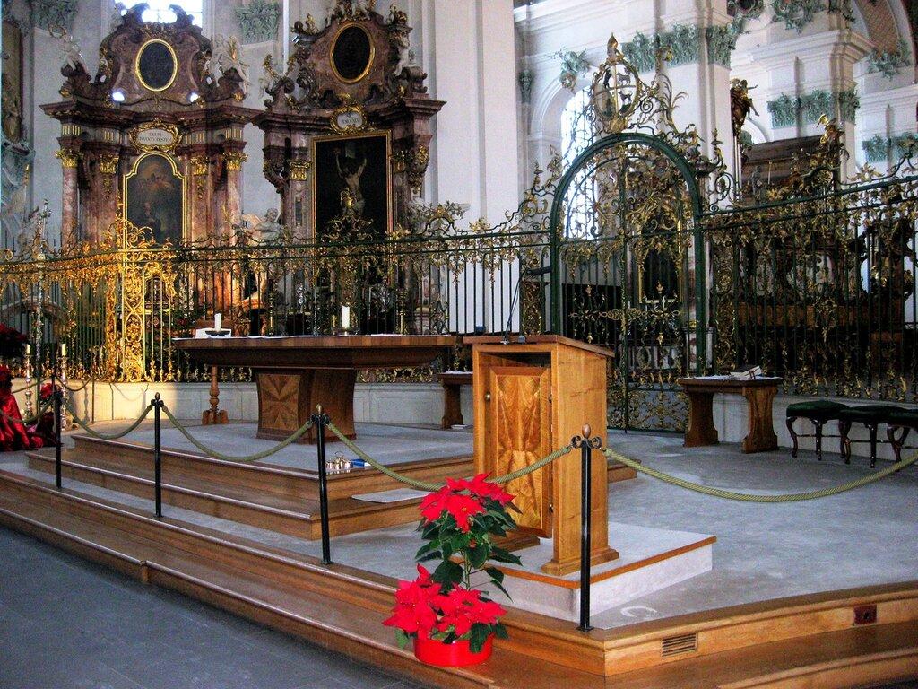 Санкт-Галлен. Кафедральный собор