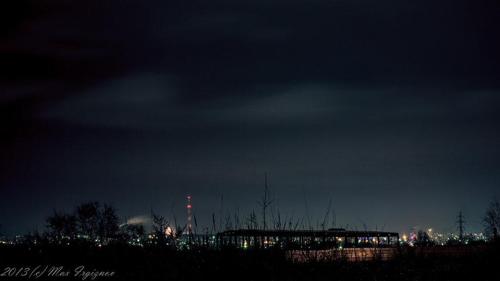 Ночной север города