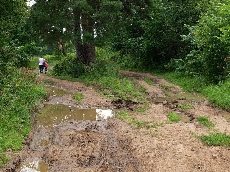 Непролазная грязь в Заречном