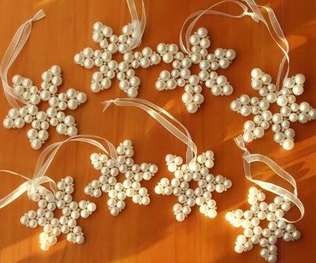 Снежинка жемчужины