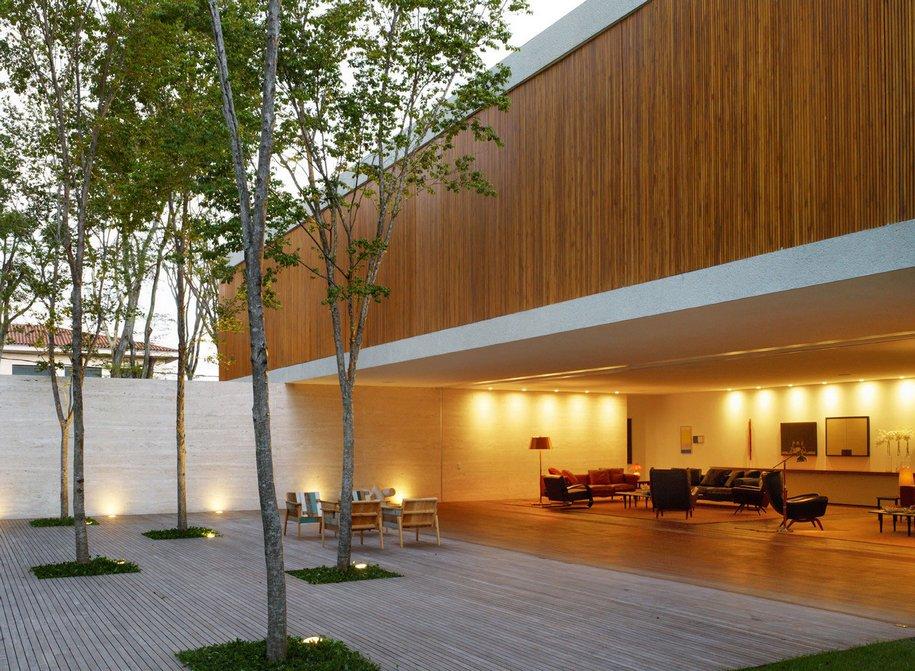 Резиденция Casa Panama от Studio MK27 в Сан-Паулу