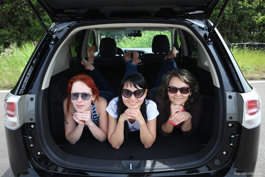 Mitsubishi Outlander 2012 тест драйв