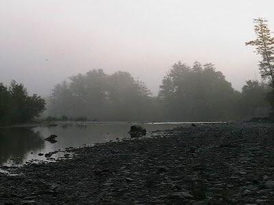Утро на горной реке Адегой рядом с Шапсугской