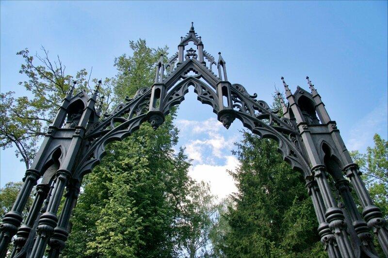 Екатерининский парк, Готические ворота