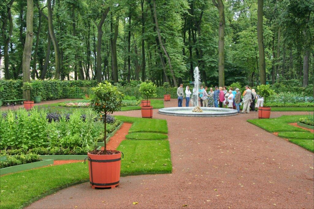 Летний сад, Красный сад