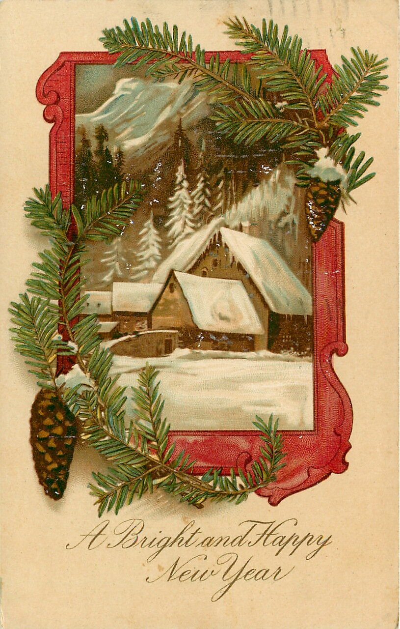 С рождеством открытки красивые блестящие снегурочка