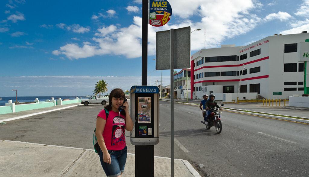 Набережная в городе Кампече (Campeche) в Мексике. Отзыв о самостоятельной поездке по стране на арендованной машине