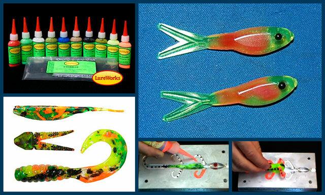 силикон для литья рыболовных приманок купить