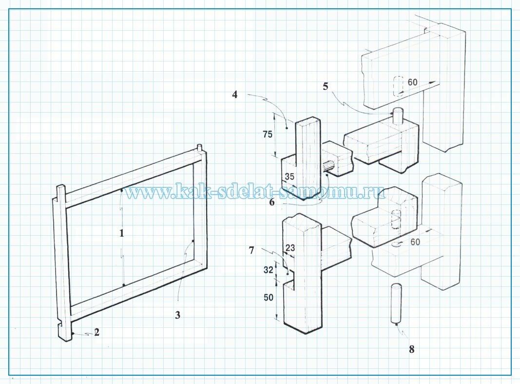 как сделать стол транфсормер своими руками чертежи