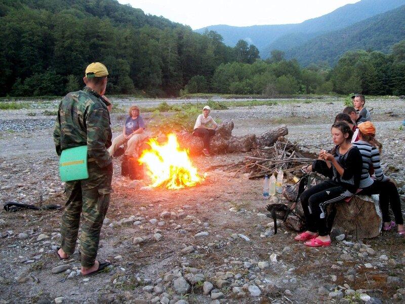 Поход, фотографии Виталия Жигулина, Кавказ, Турклуб