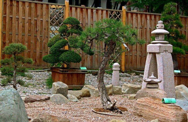 Партенит.Японский сад камней