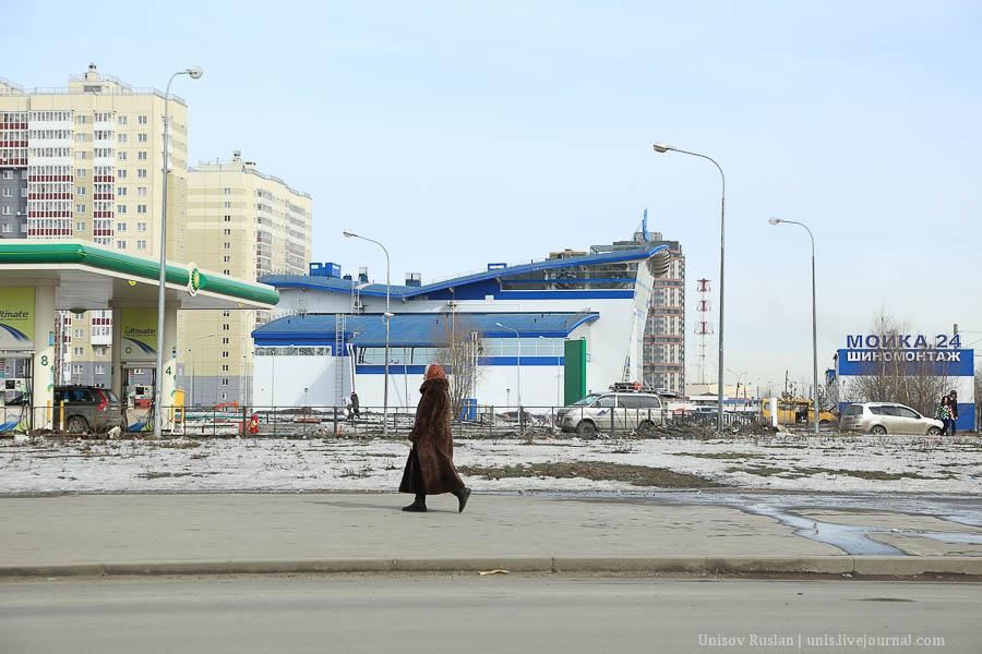 Новые дома на юго-западе Петербурга