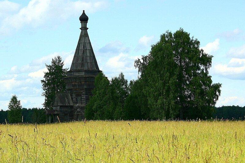церковь в Красной Ляге