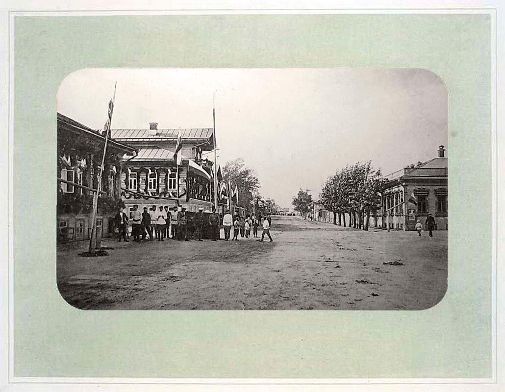 19. Юбилей 1812 г. Вознесенская улица
