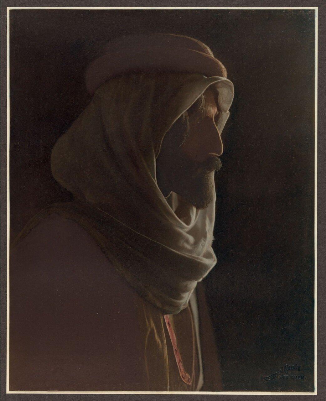Портрет бедуина