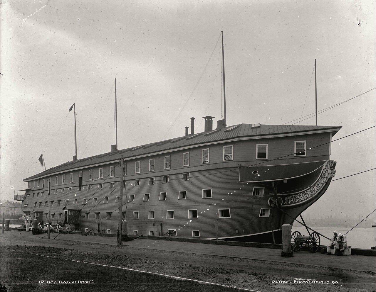USS Вермонт, Бруклинская Военно-Морская верфь, 1898 г.