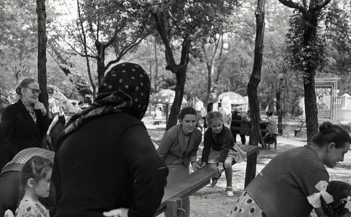В парке Островского