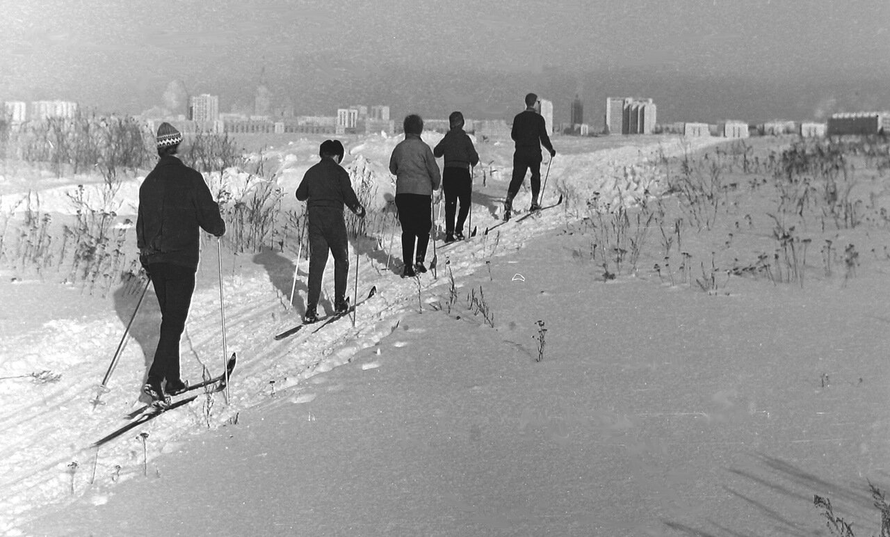 Москва,Юго-запад, примерно 1972 г.