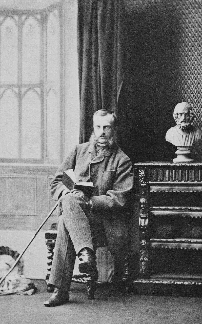 Великий князь Михаил Николаевич, четвёртый и последний сын императора Николая I и его супруги Александры Фёдоровны. 1860 г.