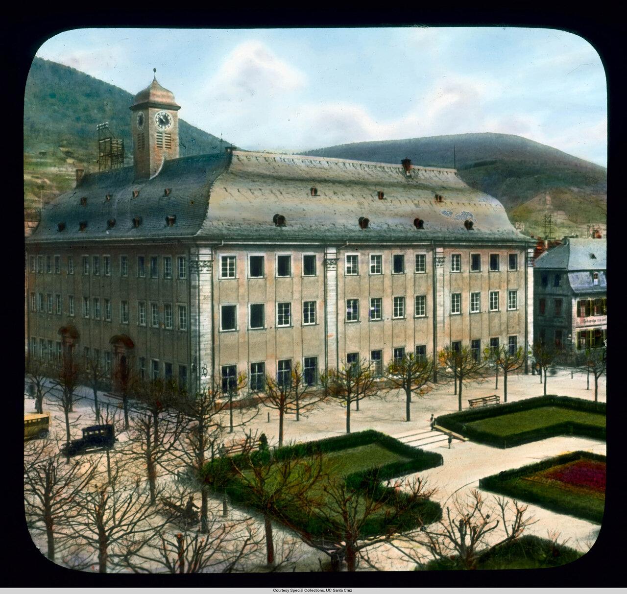 Гейдельберг. Гейдельбергский университет. Domus Вильгельмина (ныне Старый Университет)