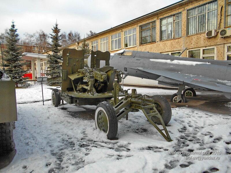 57-мм зенитная пушка С-60, областной военкомат, Железнодорожный