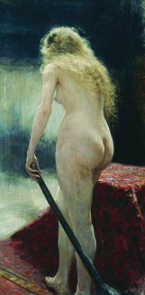 Натурщица. 1895.jpg