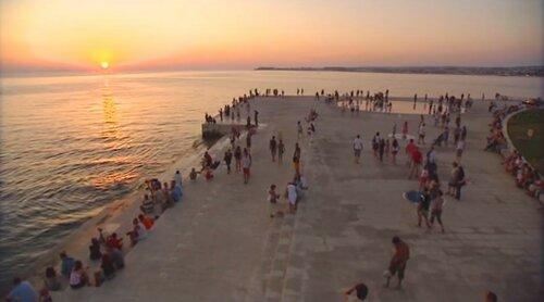 Музыка моря в Хорватии, город Задар