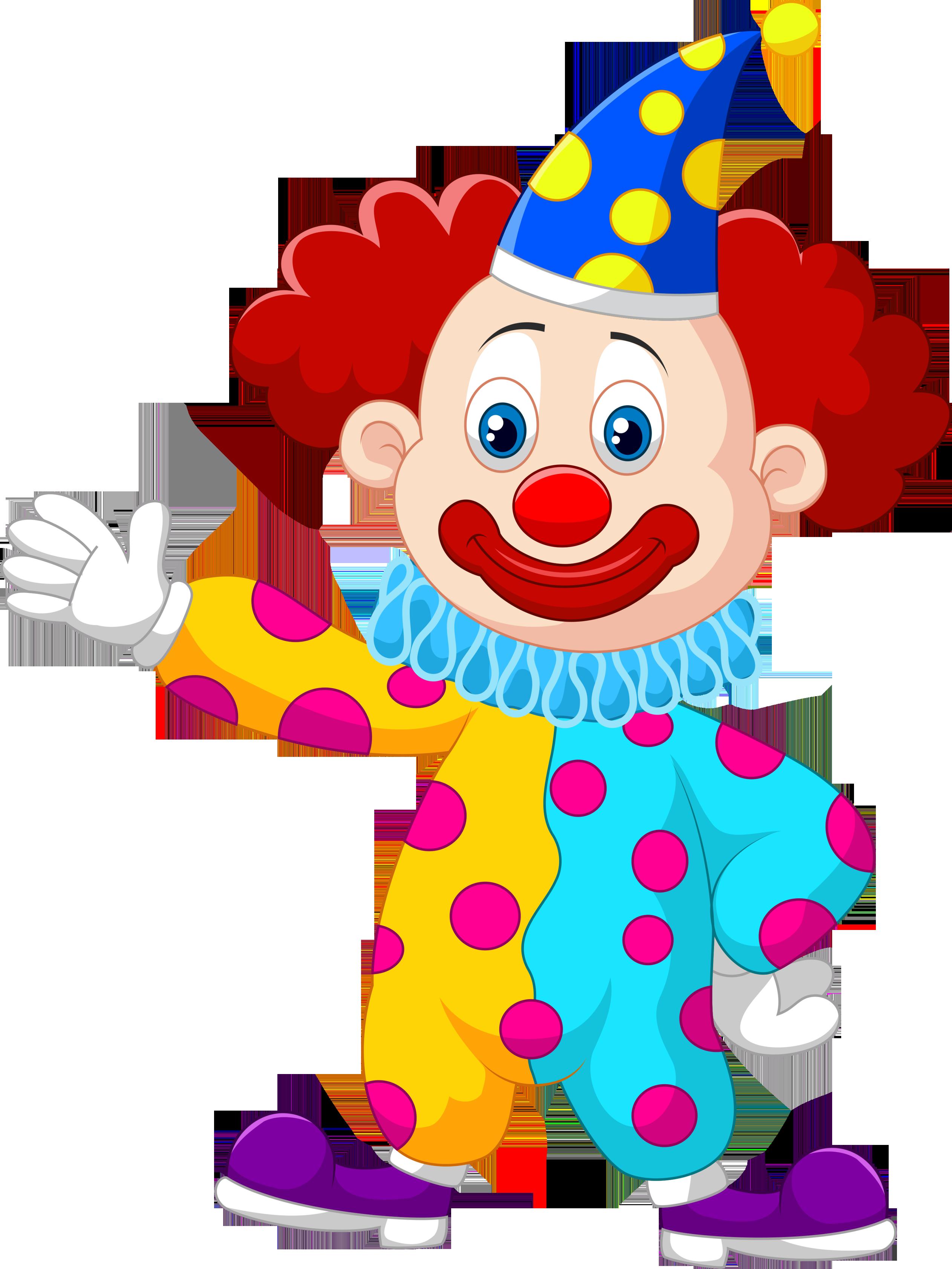 Смешные рисунки клоунов, открытки