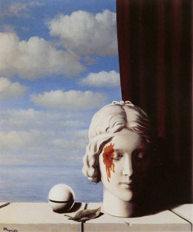 Рене Магритт, «Память»