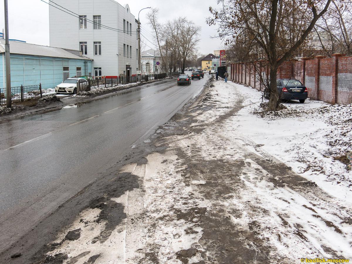 Зимняя Москва. Канатчиковский проезд. Февраль 2016