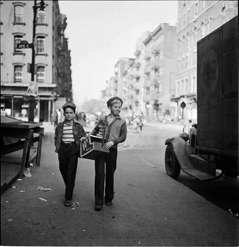 Чистильщики обуви, 1947 год