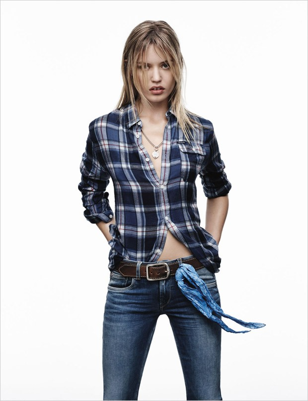 Georgia May Jagger for Pepe Jeans Spring Summer 2016