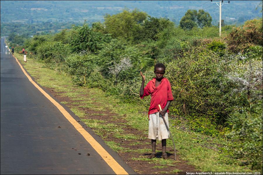 Mendigos africanos