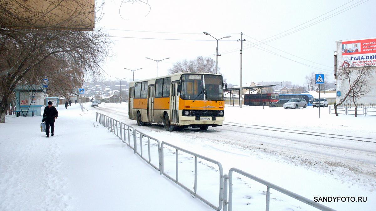 Троицк автобус