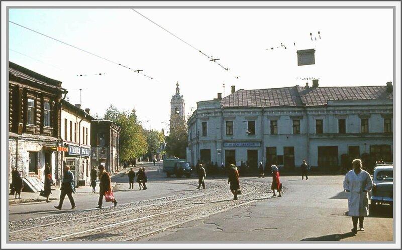 59677 Перекрёсток Сущёвской и Селезнёвской улиц и Нововоротниковского переулка Виталий Титов 1979.jpg
